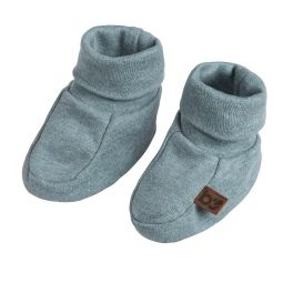 Baby's Only Booties Melange Stonegreen