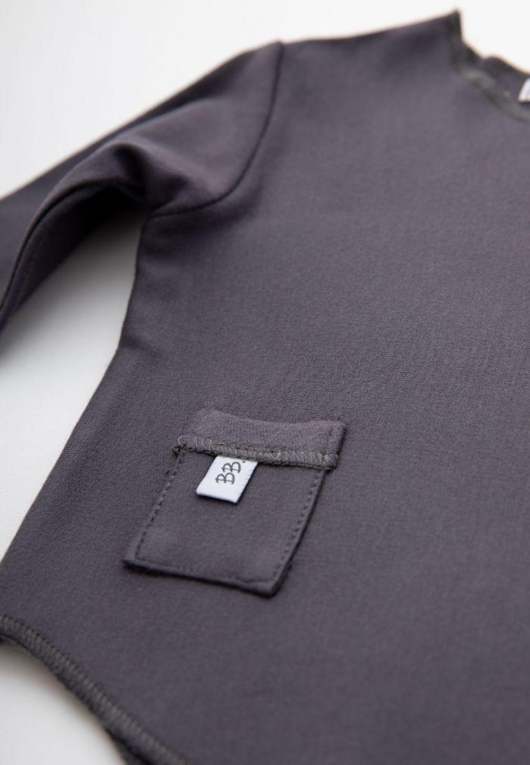 Bamboom Shirt Long Sleeves Grey