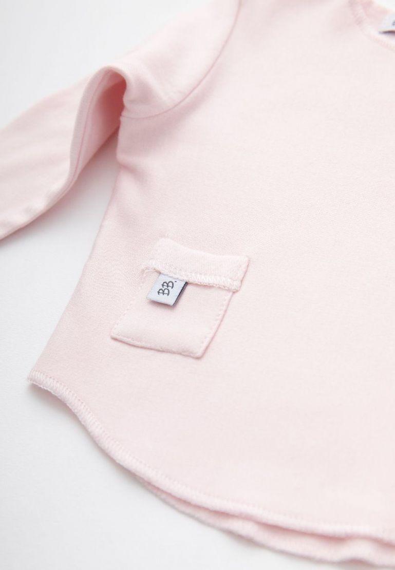 Bamboom Shirt Lange Mouw Pink