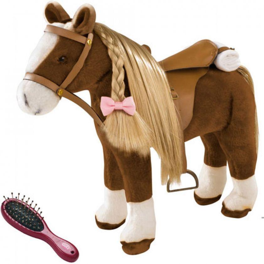 Gotz Plush Combing Horse