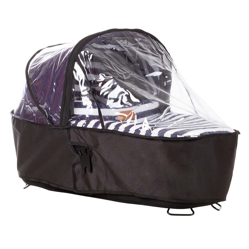 Mountain Buggy Urban Jungle en Terrain Reiswieg Plus Regenhoes