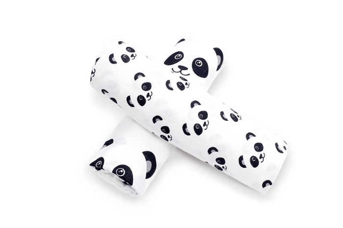 Briljant Baby Hydrofiel Swaddle Panda Dreams