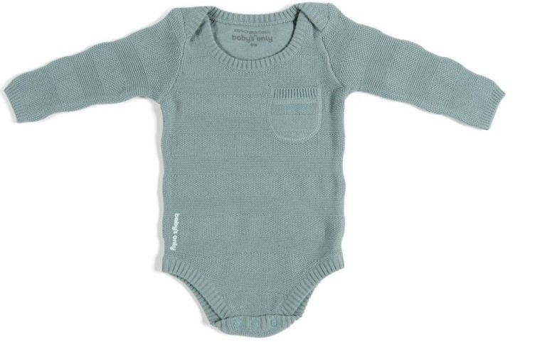 Baby's Only Body Stripe Long Sleeves Stonegreen