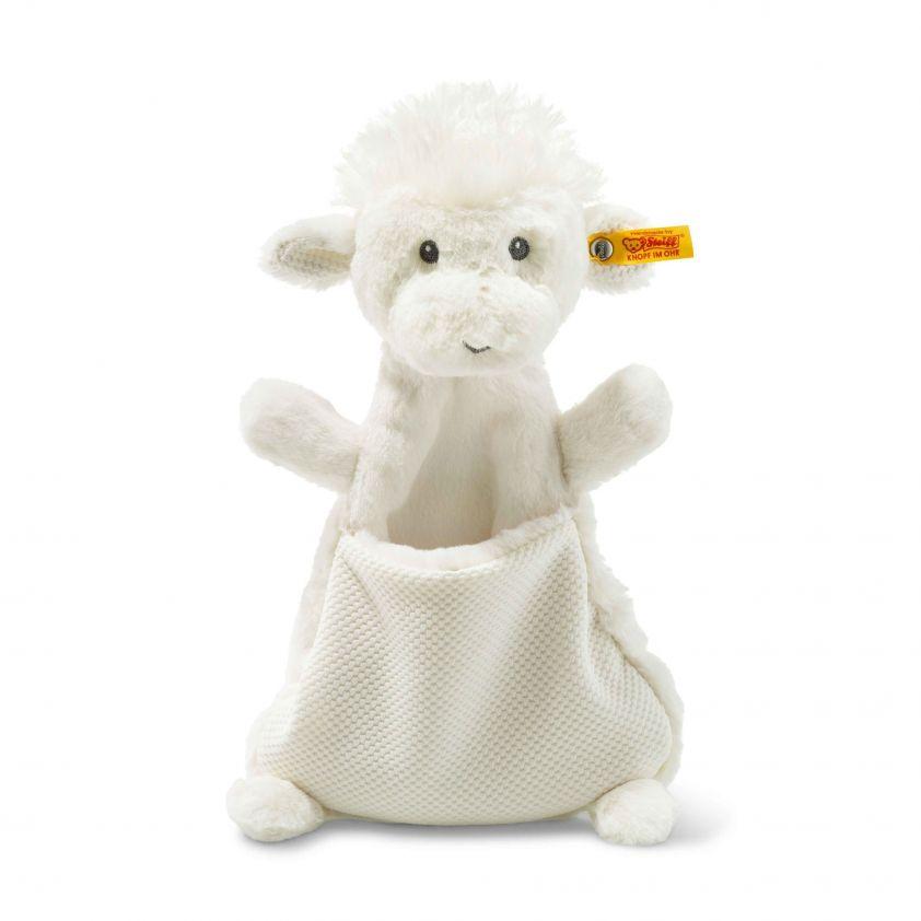 Steiff Soft Cuddly Friends Wooly Lam Knuffeldoek