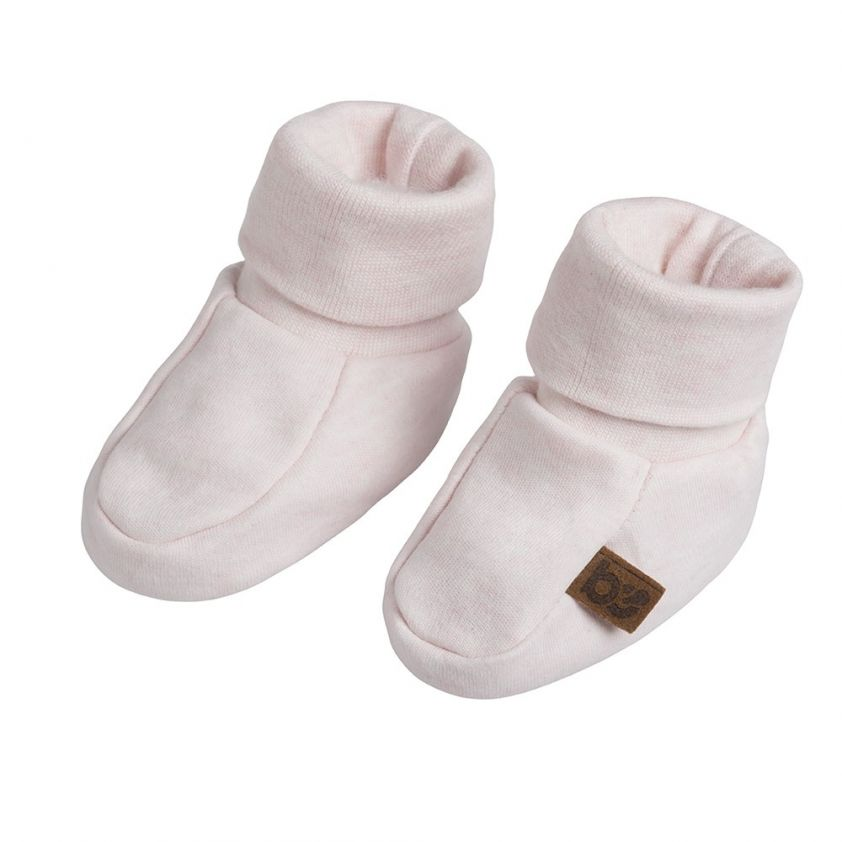 Baby's Only Booties Melange Classic Pink
