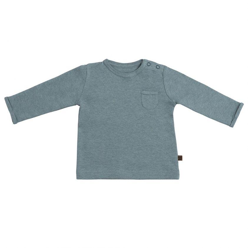Baby's Only Shirt Melange Stonegreen