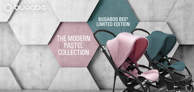 Bugaboo Bee3 pastel