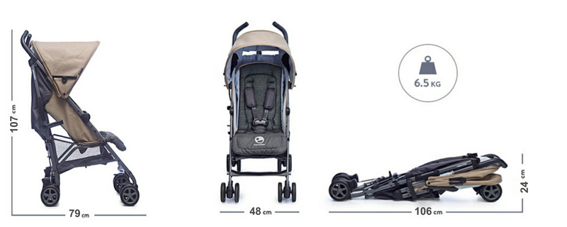 Easywalker buggy specificaties